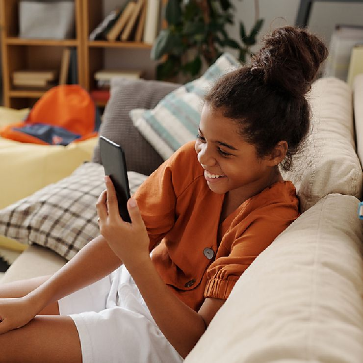 Virtual therapy for kids & teens right from home