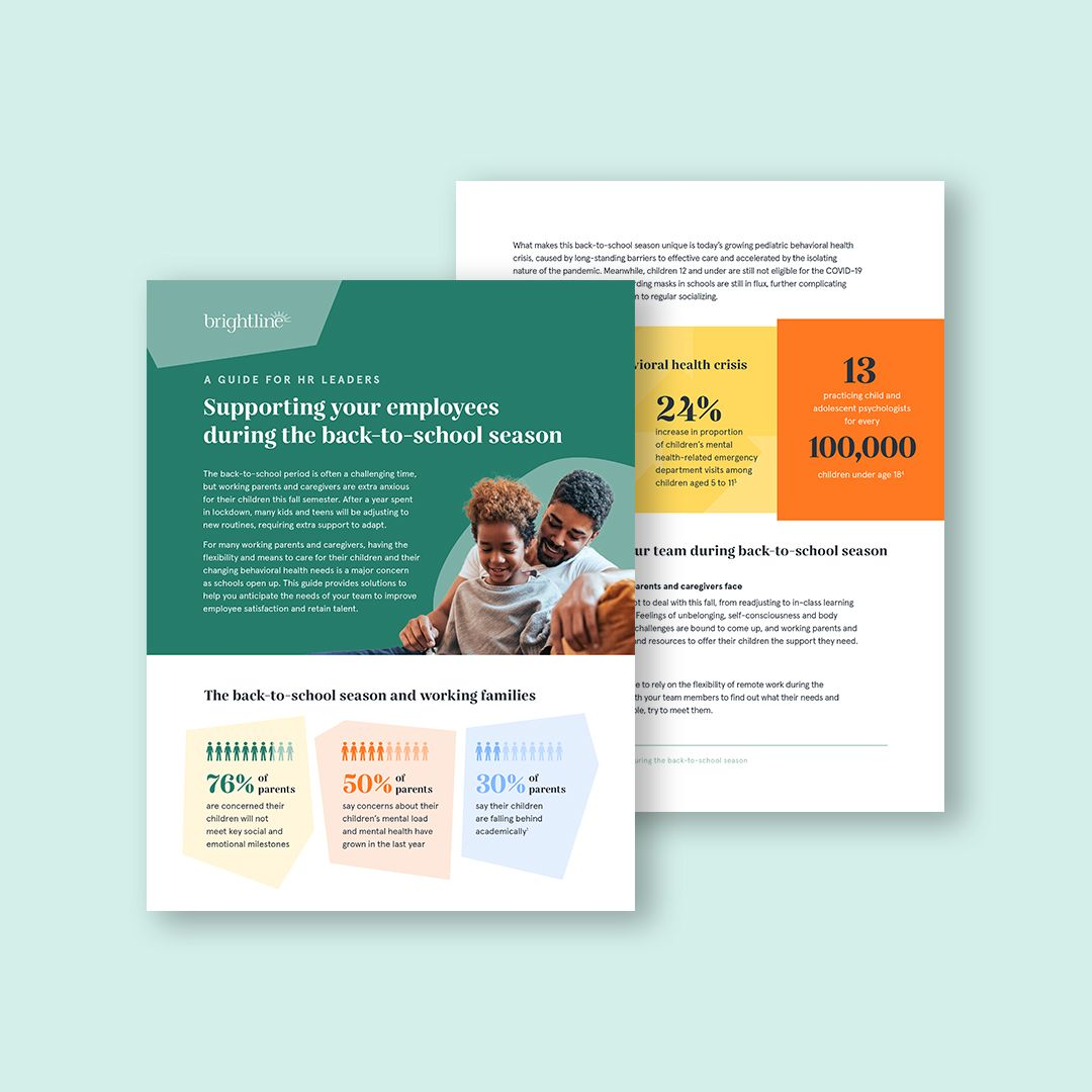 Brightline back-to-school guide for employers