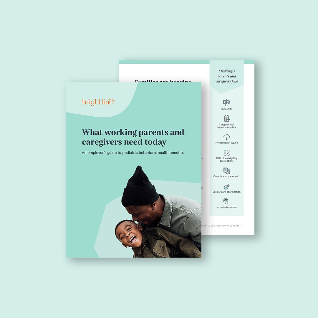 An employer's guide to pediatric behavioral health benefits