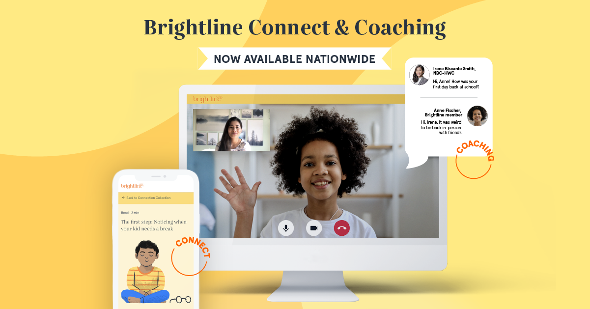 Brightline connect and coaching nationwide