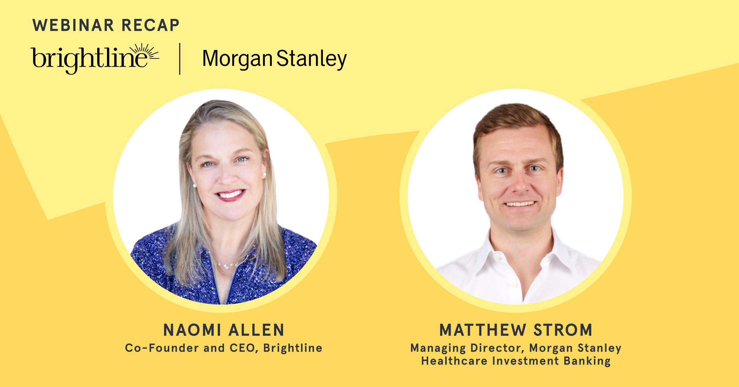 Naomi Allen Morgan Stanley Global Healthcare Conference