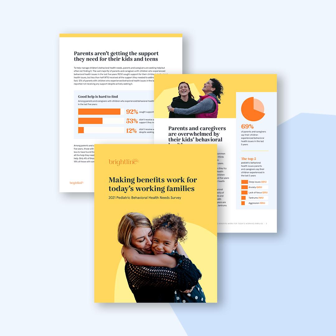 Brightline 2021 Pediatric Behavioral Health Needs Survey