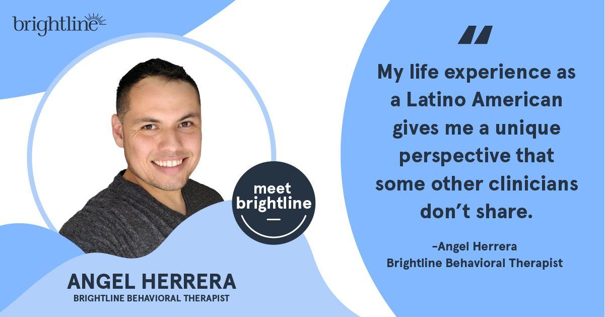 Angel Herrera Brightline therapist