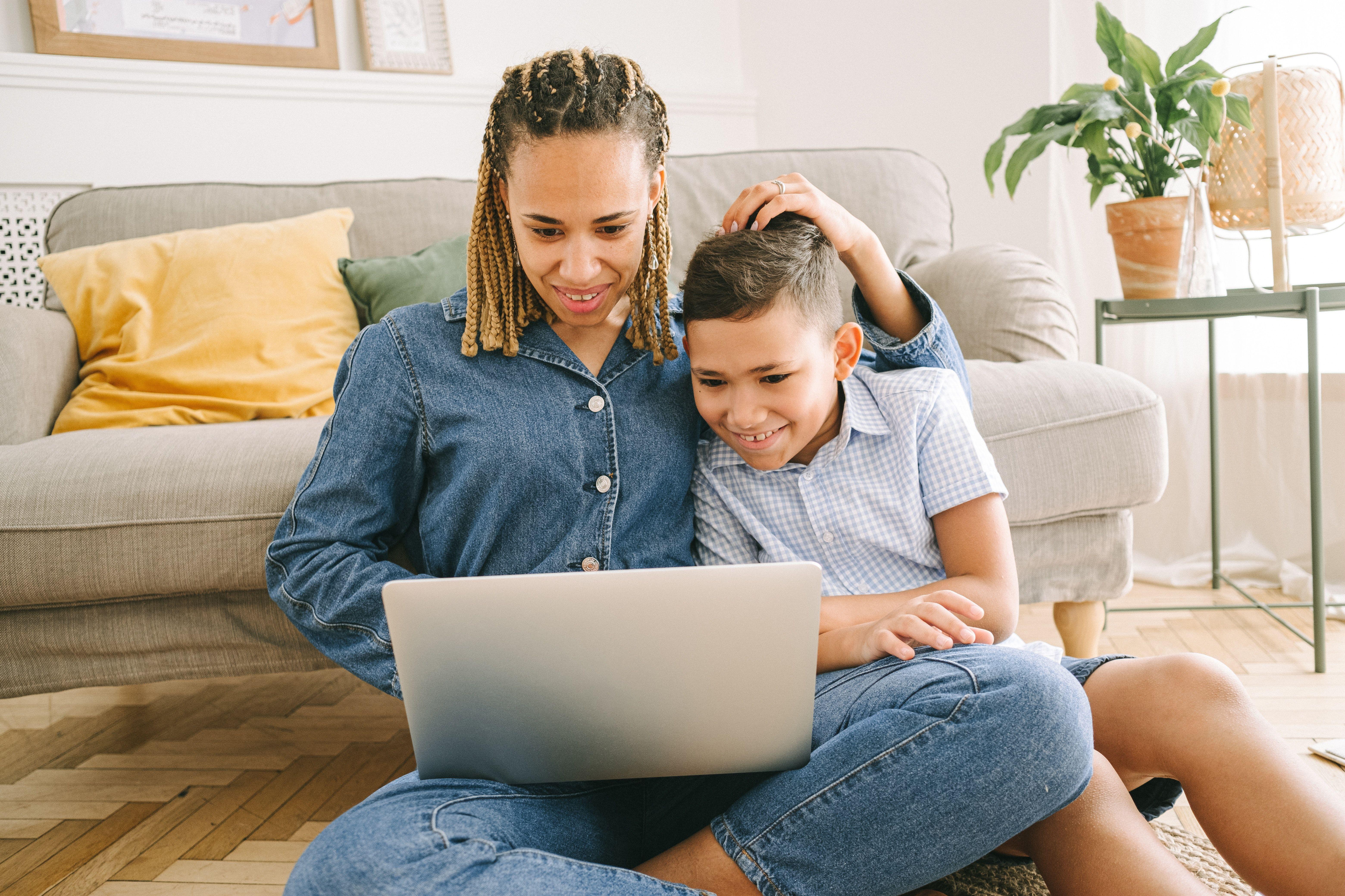 Brightline Coaching parent and child